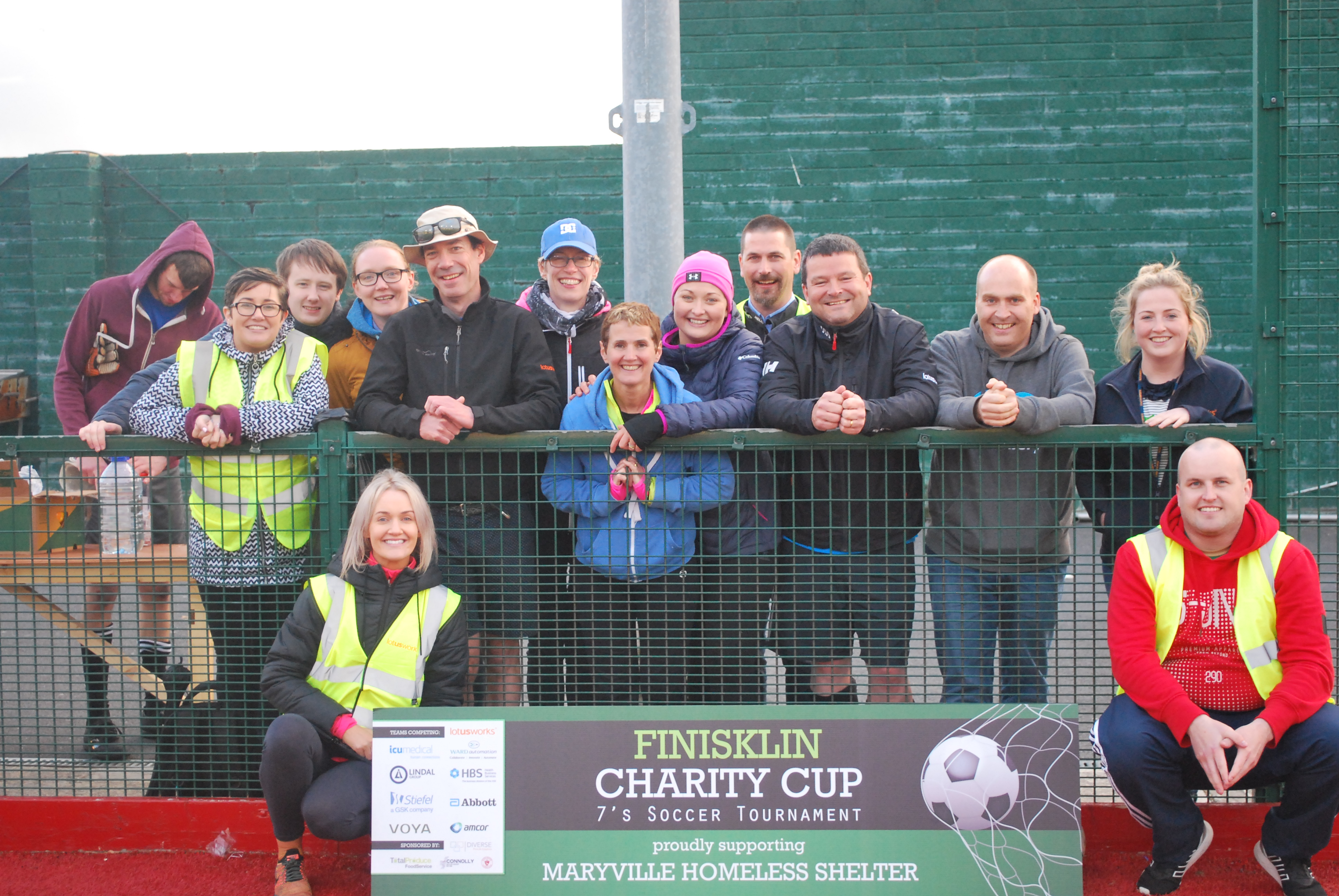 Finisklin charity cup, CSR, Giving back