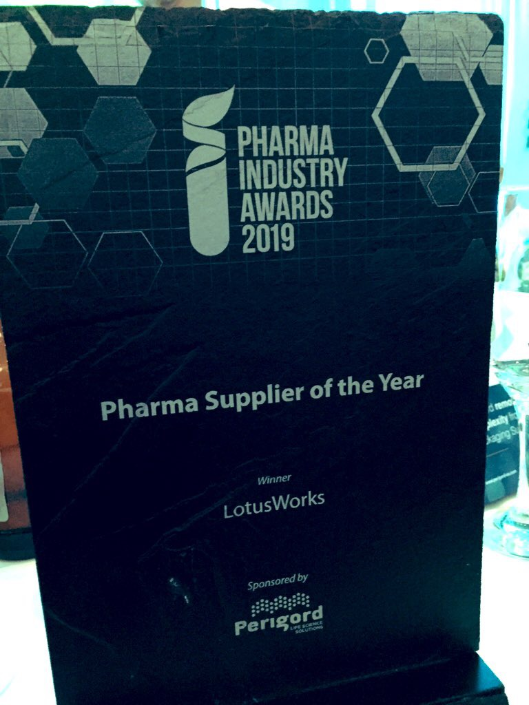 Pharma Supplier of the year