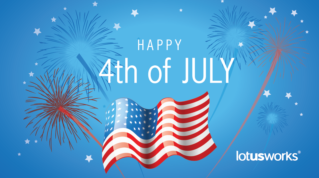 Happy 4th of July to clients & friends
