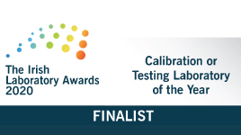 Finalists in 2020 Calibration Laboratory Awards
