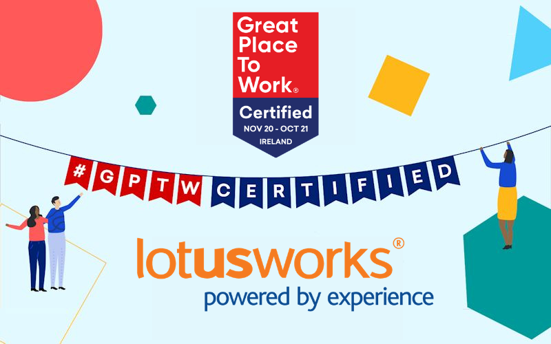 We're Great Place to Work Certified 2021