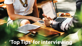 Fail to prepare, prepare to fail - top tips for interview