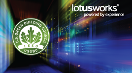 LotusWorks play their part in commissioning greener Datacenters