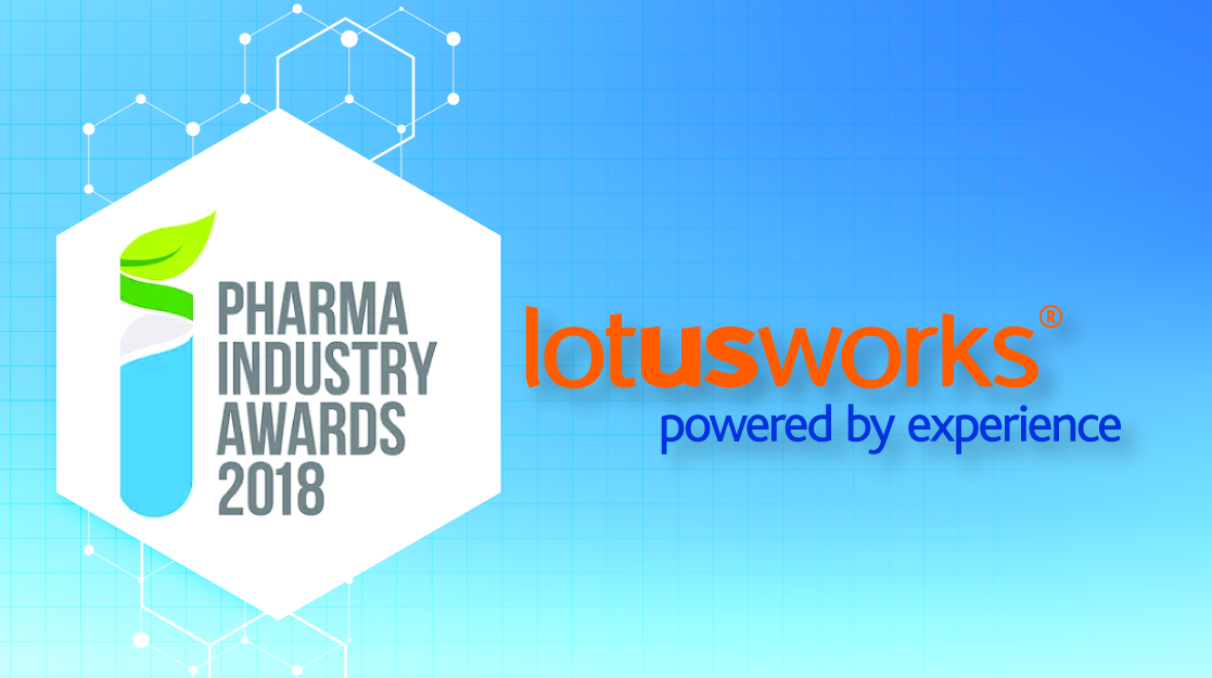 LotusWorks shortlisted in Irish Pharma Awards 2018