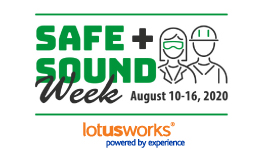 Workplace safety recognised during Safe+Sound Week at LotusWorks
