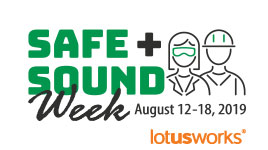 Safe + Sound Week Success at LotusWorks