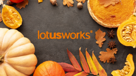 Talking Thanksgiving @LotusWorks