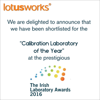 Calibration lab, Lab of the year
